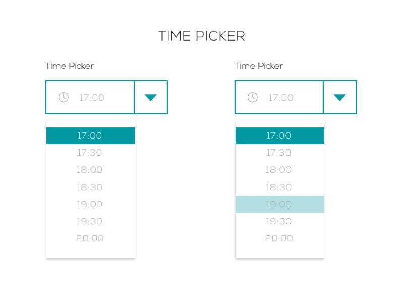Timepicker 4macy