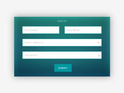Signup - 4macy sign up sign in flat green web ux ui signup signin form desktop clean