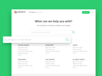 Support Site Knowledge Base