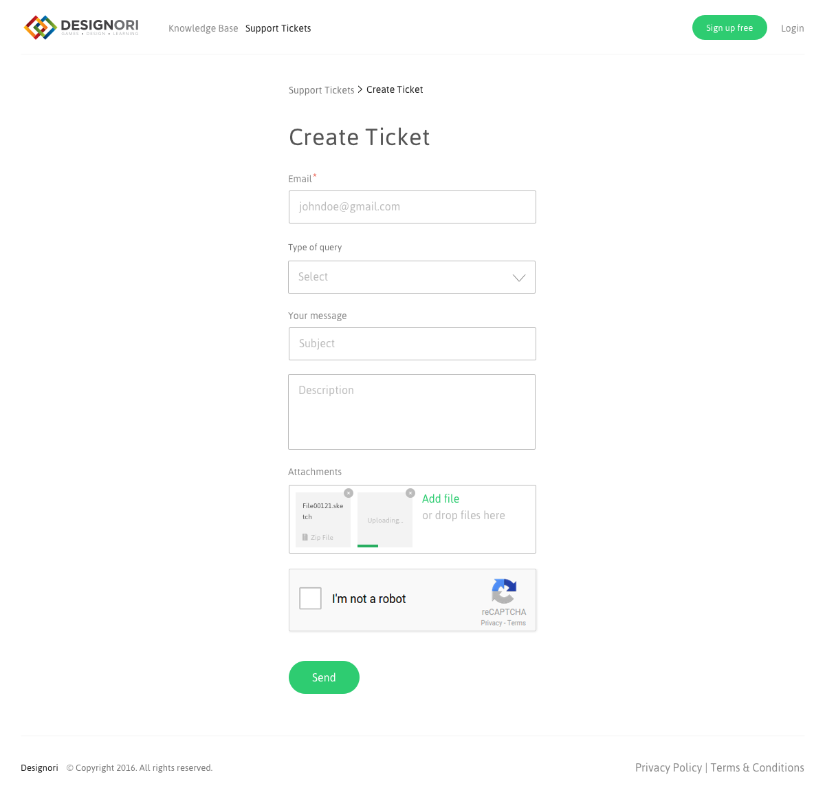 Support site knowledge base 04