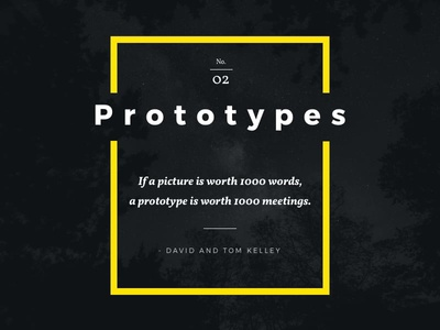 Prototypes interaction design user experience