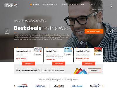 CreditcardSpec ui ux money system finance card credit web