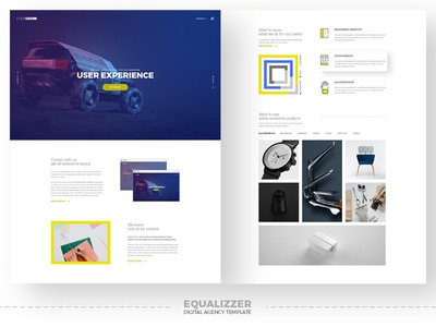 Equalizzer Digital Agency Template (WIP)