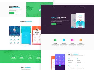 Appnest - App Landing Page