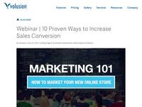 Marketing Promo for Webinar