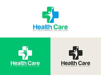 Health Care Logo Design typography ui ux branding logo design free vector logo illustration icon design icon symbol design symbol branding design logo design branding logo design concept logo designer logo mdoern logo