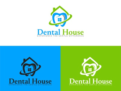 Dental House Logo Design company logo logo design branding illustration icon design symbol design branding design logo branding vector logo medical logo dental care dental logo minimalist logo free logo free logo design logo maker online free logo maker logo maker logo design