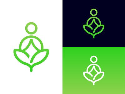 Yoga Logo Design - Meditation Logo Design graphic design minimalist logo flat logo illustration design spa logo yoga logo design yoga logo typography design logo logo design free logo design company logo logo design branding branding design logo maker meditation logo