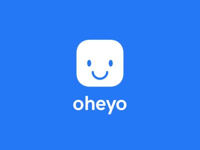Oheyo — the rebrand logo rebranding