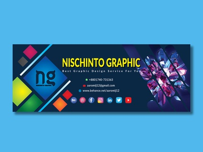 Facebook Page Cover Design social media post template