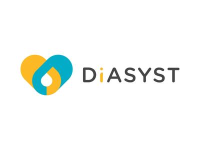 DIASYST pills drop blood brand logo heart health it management diabetes