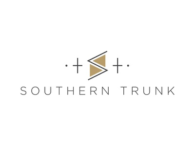 The Southern Trunk logo brand simple trunk southern photography lifestyle