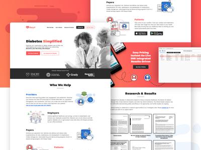 Diasyst Marketing Website 1.1 grady va emory marketing website health health it medical t1d t2d healthcare diabetes