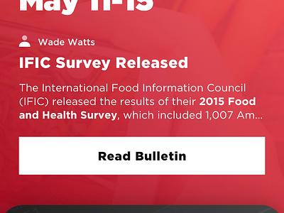 Bulletin Board - Mobile mobile website mobile web science regulatory memo content design content coke coca-cola bulletin mobile board beverage affairs