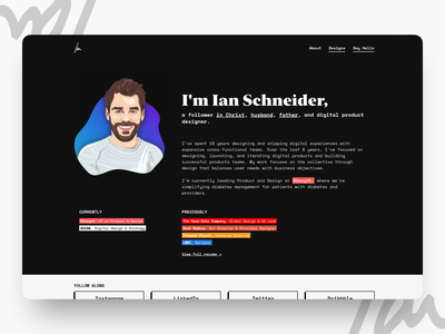 GOIAN.co semplice photography illustration personal brand personal wordpress resume website portfolio design portfolio