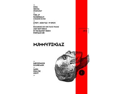 MUMMYFINGAZ VOL 1 cassette beat tape