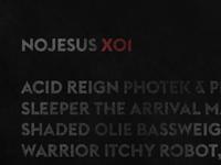 No Jesus X01