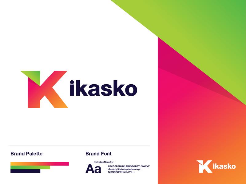 ikasko insurance logo k business insurance company insurance vector logo a day identity typography graphic logotype logo logodesign design branding