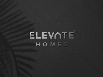 elevate home logo real estate build construction house homes home typography illustration logo a day logotype logo logodesign identity graphic design branding