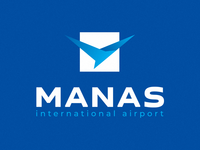 logo for international airport MANAS