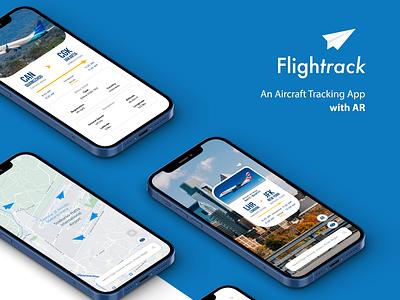 Flightrack   Aircraft Tracking App adobe illustrator cc vector tracker tracking app minimal app branding adobe illustrator ui design