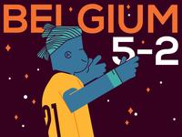 World Cup 2018: Belgium vs Tunisia