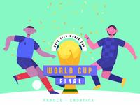 World Cup 2018: Final match