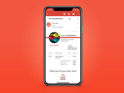 Daily UI 017 receipt app ux ui