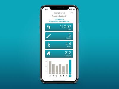 Daily UI 041 tracker fitness ux ui app