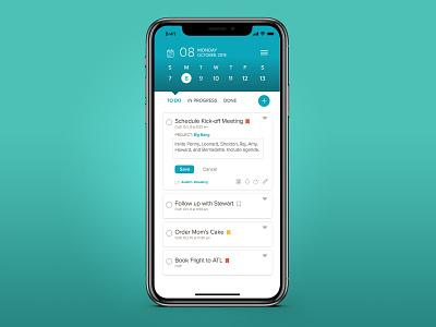 Daily UI 042 to do list to do ux ui app