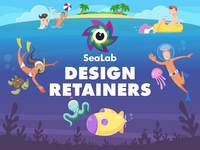 SeaLab Design Retainer Campaign - First Shot
