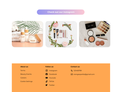 Makeup E-Commerce Page 3 website design website webdesign shop online shop cosmetic shop vector ux ui web illustration branding design