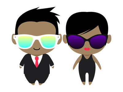 Fresh characters illustration cute avatar