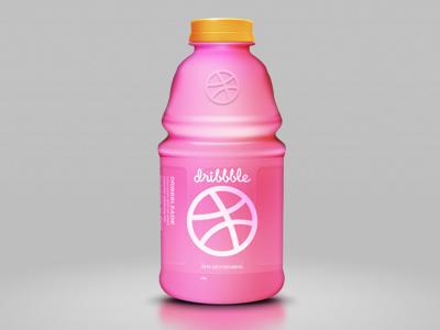 Dribbbleade drink soda sports icon