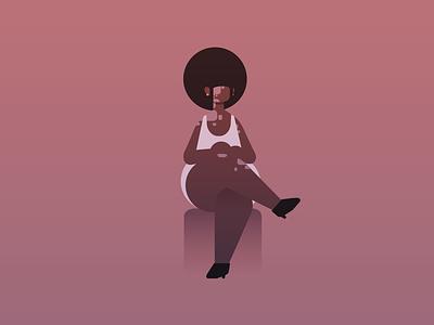 Magma character vitiligo black representation game vector