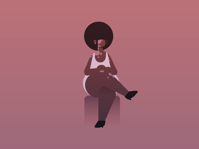 Magma character vitiligo black representation game vector