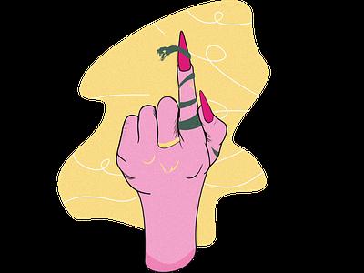 Snake snake illustration snake vector flat minimal illustration design