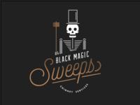Black Magic Sweep Logo