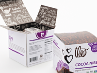 Finished Cocoa Nibs Packaging