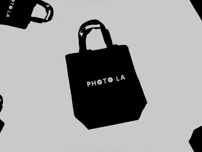 Photo LA branding identity typography