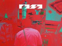 Raza identity logotype typography