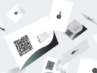 Business card design - Praan creative design design business card