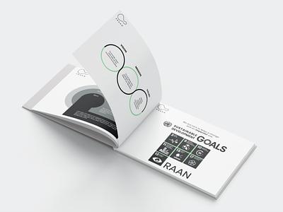 Brochure design - Praan marketing startup design mockup brochure design