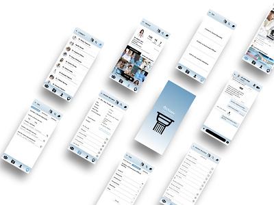 Healthcare app design healthcare app