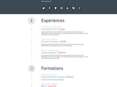 RemixJobs resume cv resume remixjobs remix jobs psddd free download template webdesign