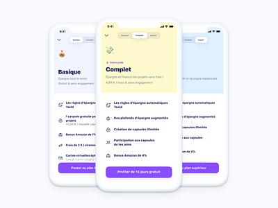 Pick a plan 🎡 finance mobile app pricing plant pick
