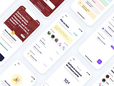 Pile ou face 🎲 game yeeld mobile ui savings app finance app