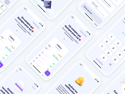 Sign Up ✍️ financial app login sign up onboarding