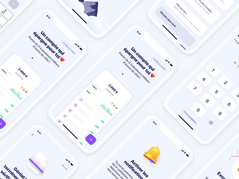 Sign Up ✍️ financial app login sign up onboarding