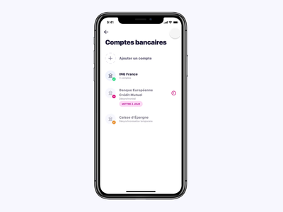 Budget Insight Connexion 🔌 fintech bank account banking plug budget insight financial app